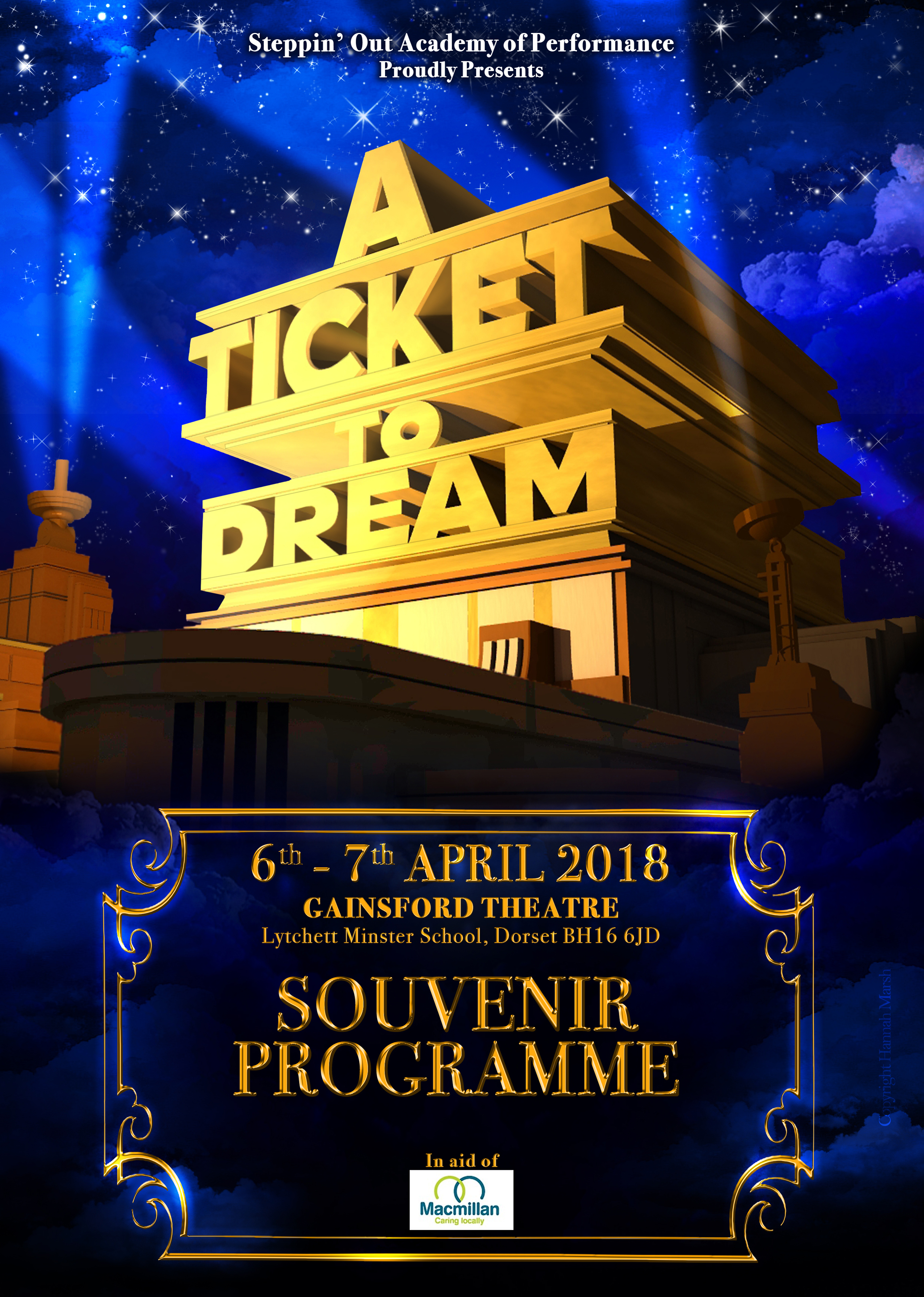 e-book A Ticket to Dream