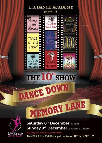 Dance Down Memory Lane